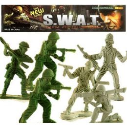 48 Units of 100 Piece S.w.a.t. Soldiers - Action Figures & Robots