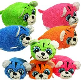 72 Units of Mini Plush Stackable Tigers - Plush Toys