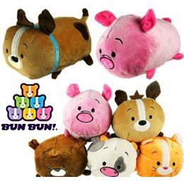 48 Units of Plush Small Bun Bun Stacking Animals - Plush Toys