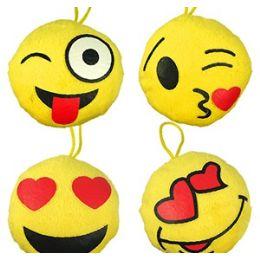 96 Units of Mini Plush Emojis - Plush Toys