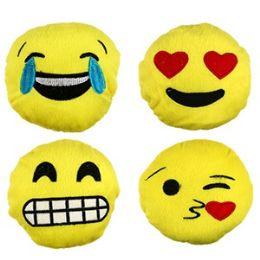 96 Units of Mini Plush Emojis. - Plush Toys