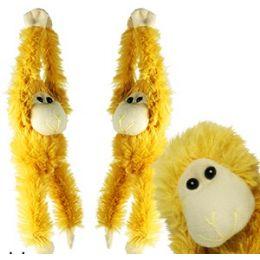 144 Units of Plush Hanging Baby Monkeys - Plush Toys