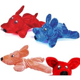 180 Units of Plush Laying Down Dogs. - Plush Toys