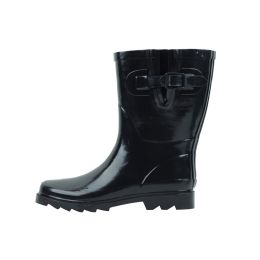 12 Units of Womans Rubber Rain Boots (9 Inches Tall) - Women's Boots