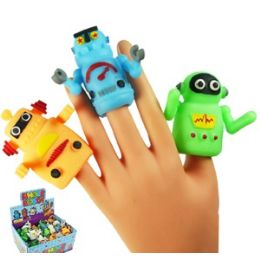 144 Units of Robot Finger Puppets. - Action Figures & Robots