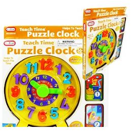 16 Units of Teach Time Puzzle Clocks. - Puzzles