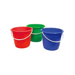 "48 Units of Plastic Pail with/Handle 11.25""diameter .x9.25""height - Buckets & Basins"