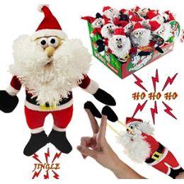 48 Units of FLINGSHOT FLYING SANTAS W/SOUND. - Christmas Novelties