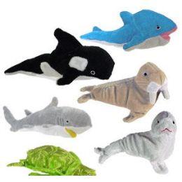 60 Units of Large Plush Sea Life. - Plush Toys