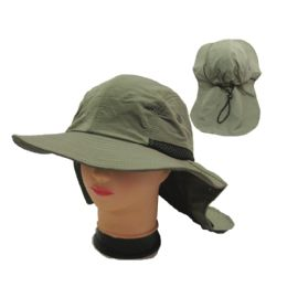 24 Units of Mens Solid Color Hunting Hat - Hunting Caps
