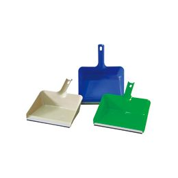 48 Units of Jumbo Dustpan With/rubber Edge - Dust Pans