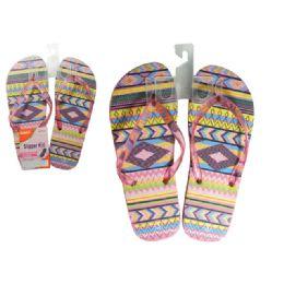 72 Units of Slipper For Girl 6 Asst Clr Size 6-10 - Girls Slippers