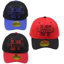 24 Units of Adult Baseball Cap Las Vegas - Baseball Caps & Snap Backs