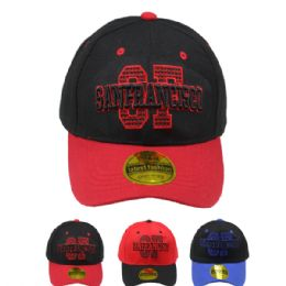 24 Units of Adult Baseball Cap San Francisco - Baseball Caps & Snap Backs