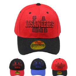 24 Units of Baseball Cap Los Angeles - Baseball Caps & Snap Backs
