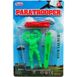 "192 Units of ""Paratrooper"" Play Set w/ Launcher - Action Figures & Robots"