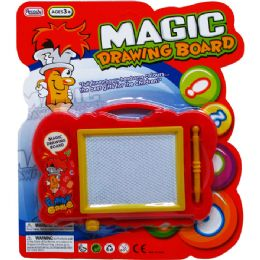 96 Units of MAGIC DRAWING BOARD IN BLISTERED CARD - Novelty Toys