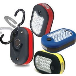 36 Units of 27-LED WORK LIGHTS WITH HOOK & MAGNET. - Lightbulbs