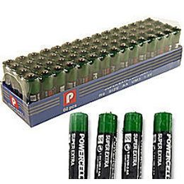 """1200 Units of 60 Piece """"aaa"""" Batteries. - Batteries"""