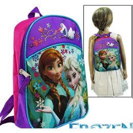 8 Units of DISNEY'S FROZEN MINI BACKPACKS. - Licensed Backpacks