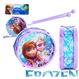 24 Units of 5 X 2 Inch Disney's Frozen Drums. - Musical