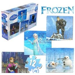 24 Units of Disney's Frozen Jigsaw Puzzles - Puzzles