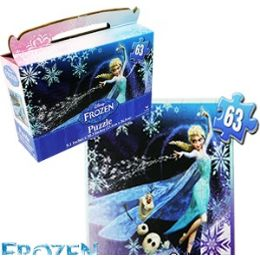 24 Units of Disney Frozen Gift Box Puzzles. - Puzzles