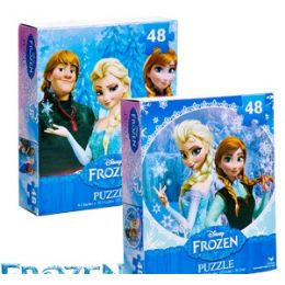 36 Units of Disney's Frozen Jigsaw Puzzles - Puzzles