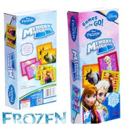 24 Units of Disney's Frozen Memory Match Games - Dominoes & Chess