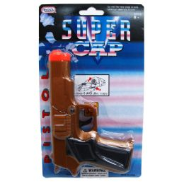 144 Units of GOLD SUPER CAP GUN (SQUARE) - Toy Weapons