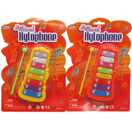 "96 Units of 6"" MY BAND XYLOPHONE SET IN BLISTER CARD, 2 ASSRT - Musical"