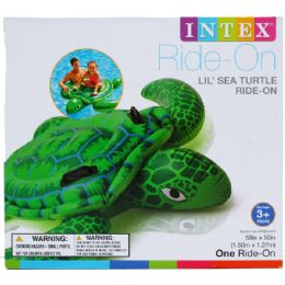 12 Units of SEA TURTLE RIDE WATER RIDE ON - Summer Toys