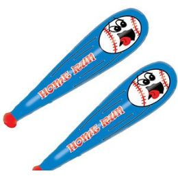 56 Units of Inflatable Home Run Baseball Bats - Inflatables
