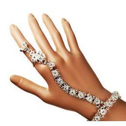 12 Units of BELLY DANCE SLAVE BRACELETS- SILVER - Bracelets