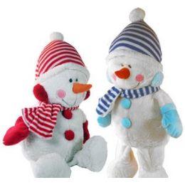 12 Units of PLUSH SNOWMAN - Christmas Novelties
