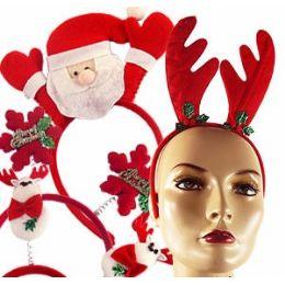 240 Units of CHRISTMAS HEADBANDS. - Christmas Novelties