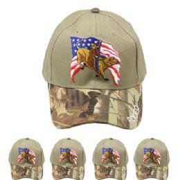 24 Units of Rodeo Camo Baseball Cap - Baseball Caps & Snap Backs