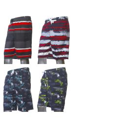 48 Units of Mens Fashion Swim Shorts - Mens Bathing Suits