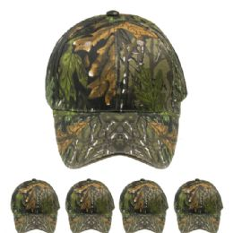 24 Units of Camouflage Hunting Cap - Hunting Caps
