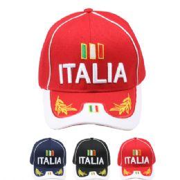 24 Units of Baseball Cap (italia) - Baseball Caps & Snap Backs