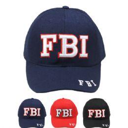 12 Units of Baseball Cap FBI - Baseball Caps & Snap Backs