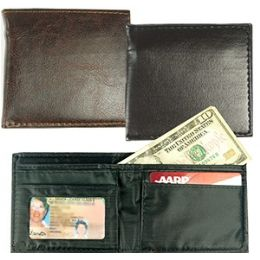 300 Units of Faux Leather Mens Wallet - Leather Wallets