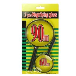 60 Units of 2 PIECE MAGNIFYING GLASS SETS - Magnifying  Glasses