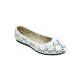 18 Units of Womans Fashions Flats Shoes White - Women's Flats