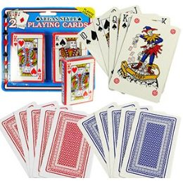 48 Units of 2-Pack Regulation Size Playing Cards - Card Games