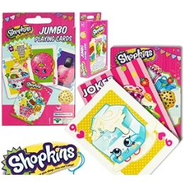24 Units of Jumbo Shopkins Playing Cards. - Card Games