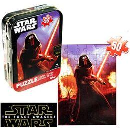 36 Units of STAR WARS MINI JIGSAW PUZZLE TINS - Puzzles