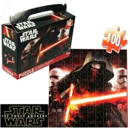 24 Units of STAR WARS GIFT BOX JIGSAW PUZZLES - Puzzles
