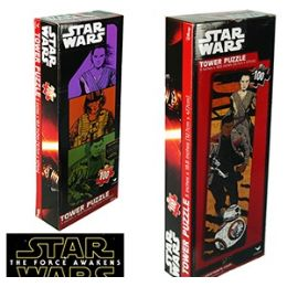 36 Units of Star Wars Tower Jigsaw Puzzles - Puzzles