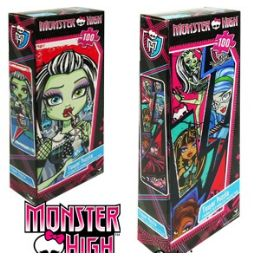 36 Units of Monster High Tower Jigsaw Puzzles. - Puzzles